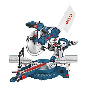 Bosch Professional GCM 10 SD 254mm Double Bevel Sliding Mitre Saw 240V