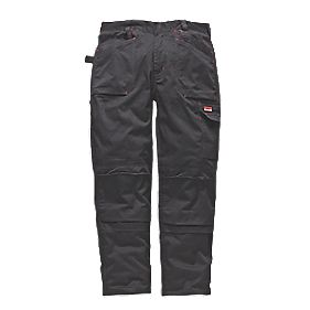 "Makita DXT Trousers Black 32"" W 32"" L"