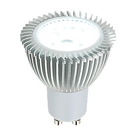 LAP LED Hi Power Dimmable GU10 LED Lamp 365Lm 5W Cool White