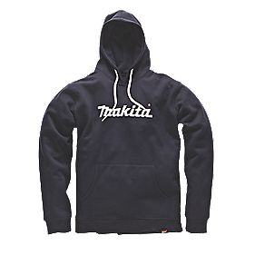 "Makita Anjo Hoodie Blue Medium 40-42"" Chest"