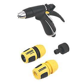 Karcher Metal Hose Spray Gun Kit 4 Pieces