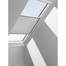 Velux Energy Blind White Roof Window Blinds Screwfix Com