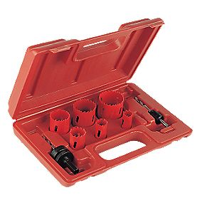 Electricians Holesaw Kit 8 Pieces