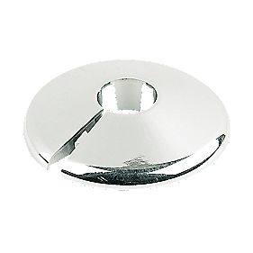 Pipe Collars 15mm Chrome Pack of 10