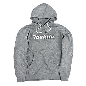 "Makita Anjo Hoodie Grey X Large 48-50"" Chest"