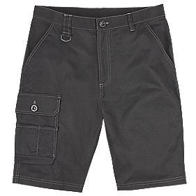 "Site Setter Service Shorts Black 34"" W"