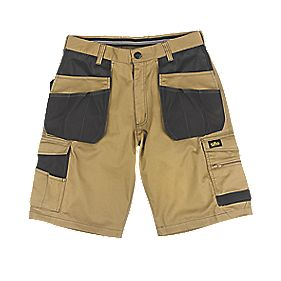 "Site Hound Multi-Pocket Shorts Khaki / Black 34"" W"