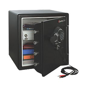 Sentry 33.6Ltr USB Electronic Water-Resistant Fire Safe 415 x 491 x 453mm