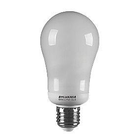 Sylvania GLS Compact Fluorescent Lamp ES 820Lm 15W