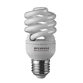 Sylvania Spiral Compact Fluorescent Lamp ES 15W