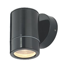 Masterlite Cave Wall Light Satin Black 35W