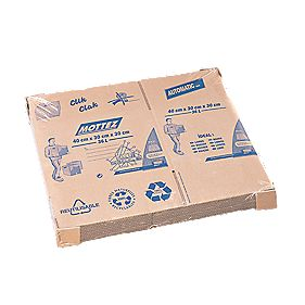 Mottez Standard Moving Box 36Ltr 400 x 300 x 300mm Pack of 10