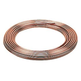 Wednesbury Microbore Copper Pipe 8mm × 25m