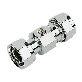 Pegler Straight Service Valve 15mm×½""