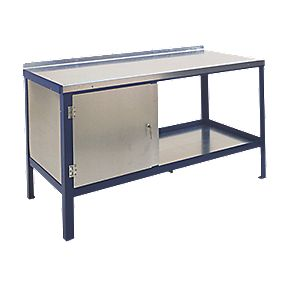 Heavy Duty Steel Top Workbench 840 x 1500 x 900