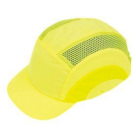 JSP Hardcap Hi-Vis Bump Cap Yellow