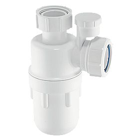 McAlpine Antisyphon Bottle Trap 40mm White