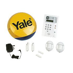 Yale Family Wireless 4 Room Alarm Kit