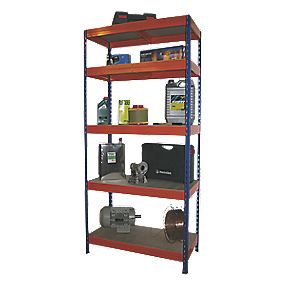 Boltless Freestanding 5-Tier Shelving 1920 x 1000 x 500mm