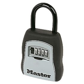 Master Lock 5-Hook Combination Key Safe