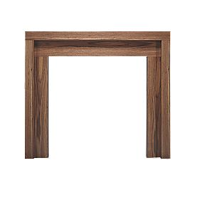 Be Modern Kansas American Walnut Veneer Fire Surround