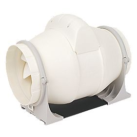 Xpelair XIM150T In-Line Bathroom Extractor Fan & Timer