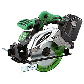 Hitachi C18DSL/JW 165mm 4Ah Li-Ion Cordless Circular Saw 18V