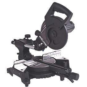 Evolution Stealth 210mm Compound Mitre Saw 240V
