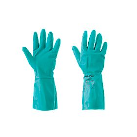 Ansell Chemical-Resistant Gloves Blue Large