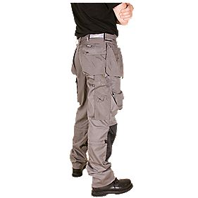 "Snickers Floorlayer Trousers L 32"" W 33"""