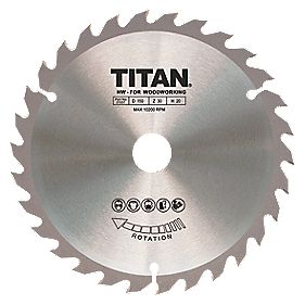 Titan TCT Circular Saw Blade 30T 150 x 10/12.75/20mm