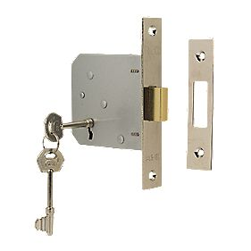 "ERA 3-Lever Mortice Deadlock Chrome 3"" (76mm)"