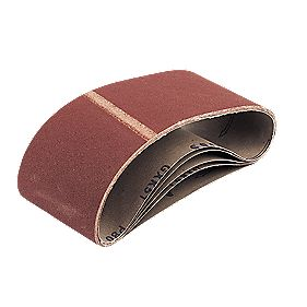 Cloth Sanding Belts 100 x 560mm 60 Grit Pack of 5