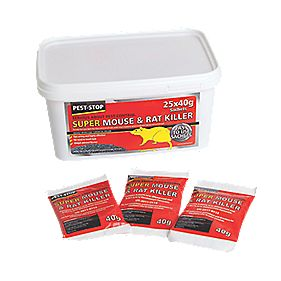 Procter Rat & Mouse Poison Pack of 25