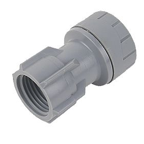 PolyPlumb Tap Connector 15mm x ½""