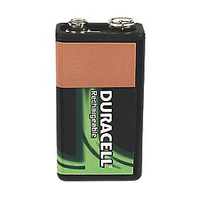 Duracell 75052469 9V Rechargeable Battery
