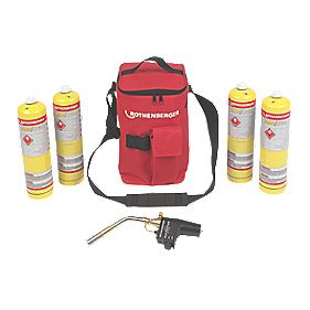 Rothenberger Hot Bag with Super Fire & 4 x MAP/PRO