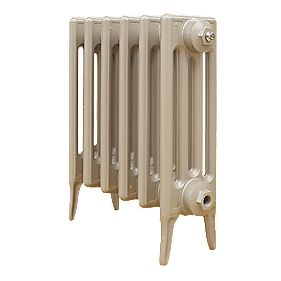 Cast Iron 460 Designer Radiator 4-Column Bronze H: 460 x W: 397mm
