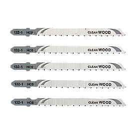 DeWalt DT2053-QZ Wood Jigsaw Blades Bayonet Pack of 5