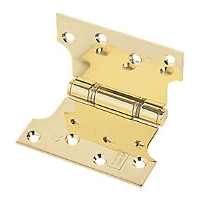 Eclipse Parliament Hinge Electro Brass 102 x 127mm Pack of 2
