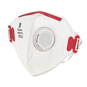 Fold Flat P3 Dust Mask Valved