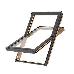 Tyrem M4AB500 DPX Natural Timber Centre-Pivot Roof Window 780 x 978mm