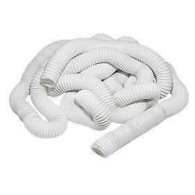 Manrose PVC White 45m x 100mm Ducting Hose
