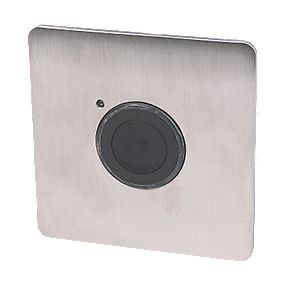 Flush Plate 2 Wire Push Button Timer