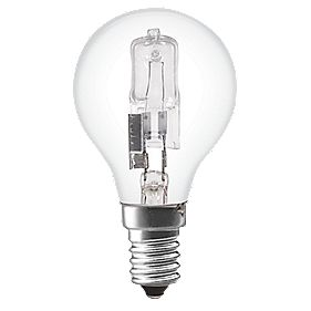 Sylvania Halogen ECO Ball Lamp SES 370Lm 28W