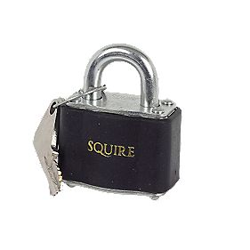Squire Laminated Keyed Padlock 7mm Dia. Shackle Pack of 10