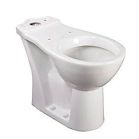 AKW Raised Height Toilet Dual Flush 6/4Ltr