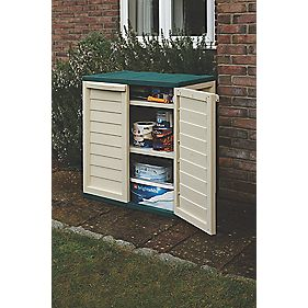 Rowlinson Plastic Utility Cabinet 2' 4 x 1' 6 x 0.9m Nominal