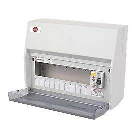 WYLEX 11-Way fully insulated RCD board Consumer Unit