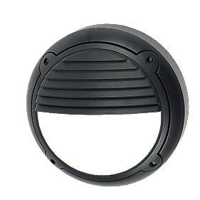 ASD HR2/BLL100 Circular Standard Bulkhead Black 100W